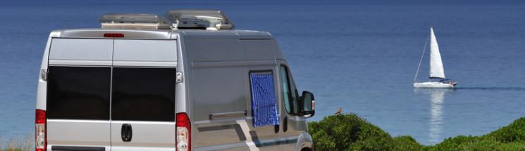 Motorhome by the ocean - Hire A Campervan