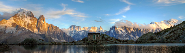Scenic mountain picture of where you could take your campervan this autumn,